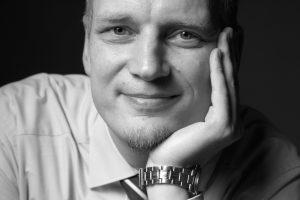 Gerhard Uhlhorn Schwarzweiß Portrait